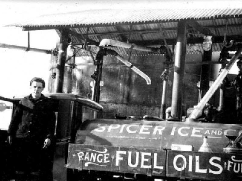 Family-owned Antique Oil Delivery Truck in CT